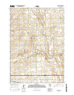 Adrian NE Minnesota Current topographic map, 1:24000 scale, 7.5 X 7.5 Minute, Year 2016 from Minnesota Map Store