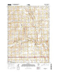 Adrian NE Minnesota Current topographic map, 1:24000 scale, 7.5 X 7.5 Minute, Year 2016