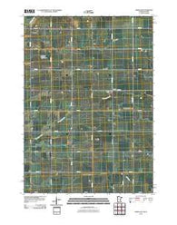 Adrian SW Minnesota Historical topographic map, 1:24000 scale, 7.5 X 7.5 Minute, Year 2010