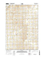 Adrian SW Minnesota Current topographic map, 1:24000 scale, 7.5 X 7.5 Minute, Year 2016 from Minnesota Map Store
