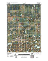 Aitkin Minnesota Historical topographic map, 1:24000 scale, 7.5 X 7.5 Minute, Year 2010