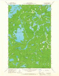 Alice Lake Minnesota Historical topographic map, 1:24000 scale, 7.5 X 7.5 Minute, Year 1960