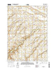 Amiret Minnesota Current topographic map, 1:24000 scale, 7.5 X 7.5 Minute, Year 2016 from Minnesota Maps Store