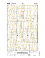 Angus SE Minnesota Current topographic map, 1:24000 scale, 7.5 X 7.5 Minute, Year 2016 from Minnesota Map Store