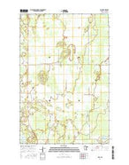 Bain Minnesota Current topographic map, 1:24000 scale, 7.5 X 7.5 Minute, Year 2016 from Minnesota Map Store