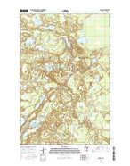 Balsam Minnesota Current topographic map, 1:24000 scale, 7.5 X 7.5 Minute, Year 2016 from Minnesota Map Store