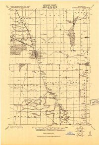 Barnesville Minnesota Historical topographic map, 1:62500 scale, 15 X 15 Minute, Year 1919