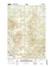 Becker Minnesota Current topographic map, 1:24000 scale, 7.5 X 7.5 Minute, Year 2016 from Minnesota Maps Store