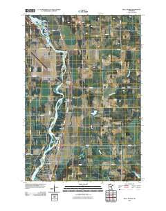 Belle Prairie Minnesota Historical topographic map, 1:24000 scale, 7.5 X 7.5 Minute, Year 2010