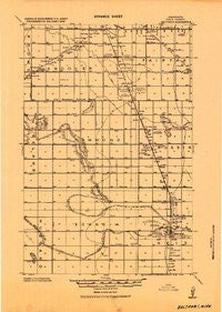 Beltrami Minnesota Historical topographic map, 1:62500 scale, 15 X 15 Minute, Year 1919