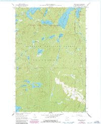 Beth Lake Minnesota Historical topographic map, 1:24000 scale, 7.5 X 7.5 Minute, Year 1960