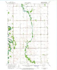 Big Woods Minnesota Historical topographic map, 1:24000 scale, 7.5 X 7.5 Minute, Year 1966