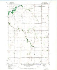 Borup Minnesota Historical topographic map, 1:24000 scale, 7.5 X 7.5 Minute, Year 1966