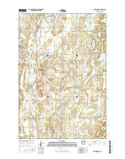 Browerville Minnesota Current topographic map, 1:24000 scale, 7.5 X 7.5 Minute, Year 2016 from Minnesota Maps Store