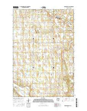 Browerville SW Minnesota Current topographic map, 1:24000 scale, 7.5 X 7.5 Minute, Year 2016 from Minnesota Maps Store