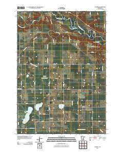 Cambria Minnesota Historical topographic map, 1:24000 scale, 7.5 X 7.5 Minute, Year 2010