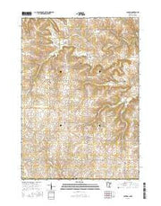 Canton Minnesota Current topographic map, 1:24000 scale, 7.5 X 7.5 Minute, Year 2016 from Minnesota Maps Store
