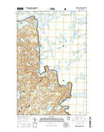Conners Island Minnesota Current topographic map, 1:24000 scale, 7.5 X 7.5 Minute, Year 2016 from Minnesota Map Store
