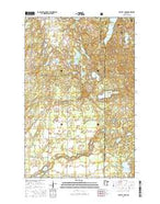 Crystal Lake Minnesota Current topographic map, 1:24000 scale, 7.5 X 7.5 Minute, Year 2016 from Minnesota Map Store