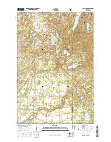 Crystal Lake Minnesota Current topographic map, 1:24000 scale, 7.5 X 7.5 Minute, Year 2016