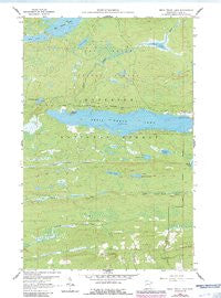 Devil Track Lake Minnesota Historical topographic map, 1:24000 scale, 7.5 X 7.5 Minute, Year 1960
