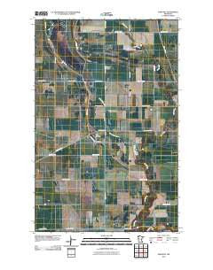 Dorothy Minnesota Historical topographic map, 1:24000 scale, 7.5 X 7.5 Minute, Year 2010