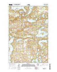 Dorset Minnesota Current topographic map, 1:24000 scale, 7.5 X 7.5 Minute, Year 2016