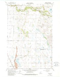 Downer Minnesota Historical topographic map, 1:24000 scale, 7.5 X 7.5 Minute, Year 1966