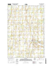 Eagle Bend Minnesota Current topographic map, 1:24000 scale, 7.5 X 7.5 Minute, Year 2016 from Minnesota Maps Store
