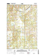 Ebro Minnesota Current topographic map, 1:24000 scale, 7.5 X 7.5 Minute, Year 2016 from Minnesota Map Store