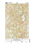 Ebro NW Minnesota Current topographic map, 1:24000 scale, 7.5 X 7.5 Minute, Year 2016 from Minnesota Map Store