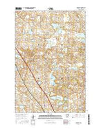 Elizabeth Minnesota Current topographic map, 1:24000 scale, 7.5 X 7.5 Minute, Year 2016 from Minnesota Map Store