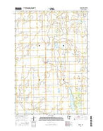 Elrosa Minnesota Current topographic map, 1:24000 scale, 7.5 X 7.5 Minute, Year 2016 from Minnesota Map Store