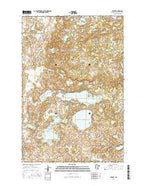 Erhard Minnesota Current topographic map, 1:24000 scale, 7.5 X 7.5 Minute, Year 2016 from Minnesota Map Store