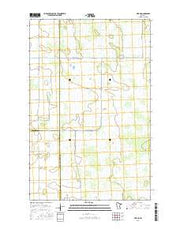 Erie NE Minnesota Current topographic map, 1:24000 scale, 7.5 X 7.5 Minute, Year 2016 from Minnesota Maps Store