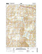 Farming Minnesota Current topographic map, 1:24000 scale, 7.5 X 7.5 Minute, Year 2016 from Minnesota Map Store