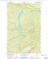 Farquhar Peak Minnesota Historical topographic map, 1:24000 scale, 7.5 X 7.5 Minute, Year 1960