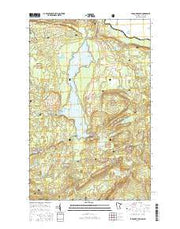 Farquhar Peak Minnesota Current topographic map, 1:24000 scale, 7.5 X 7.5 Minute, Year 2016 from Minnesota Maps Store