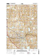 Fergus Falls Minnesota Current topographic map, 1:24000 scale, 7.5 X 7.5 Minute, Year 2016 from Minnesota Map Store