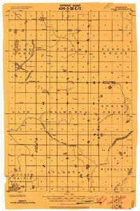 Flom Minnesota Historical topographic map, 1:62500 scale, 15 X 15 Minute, Year 1918