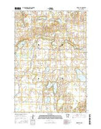 Forest City Minnesota Current topographic map, 1:24000 scale, 7.5 X 7.5 Minute, Year 2016 from Minnesota Map Store