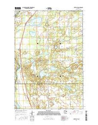 Fort Ripley Minnesota Current topographic map, 1:24000 scale, 7.5 X 7.5 Minute, Year 2016