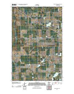 Fosston West Minnesota Historical topographic map, 1:24000 scale, 7.5 X 7.5 Minute, Year 2010