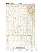 Foxhome Minnesota Current topographic map, 1:24000 scale, 7.5 X 7.5 Minute, Year 2016 from Minnesota Map Store