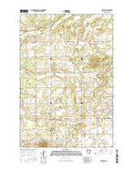 Freedhem Minnesota Current topographic map, 1:24000 scale, 7.5 X 7.5 Minute, Year 2016 from Minnesota Map Store