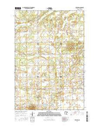 Freedhem Minnesota Current topographic map, 1:24000 scale, 7.5 X 7.5 Minute, Year 2016