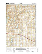 Freeport Minnesota Current topographic map, 1:24000 scale, 7.5 X 7.5 Minute, Year 2016 from Minnesota Map Store