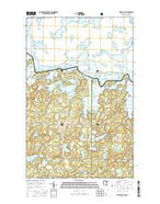 Friday Bay Minnesota Current topographic map, 1:24000 scale, 7.5 X 7.5 Minute, Year 2016 from Minnesota Map Store