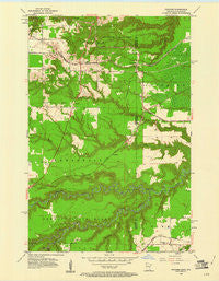 Frogner Minnesota Historical topographic map, 1:24000 scale, 7.5 X 7.5 Minute, Year 1954