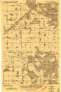 Gemmell Minnesota Historical topographic map, 1:62500 scale, 15 X 15 Minute, Year 1919